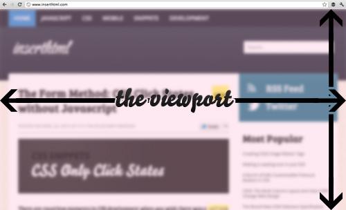 Viewport illustration
