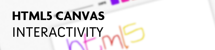 HTML5 Canvas Interactivity
