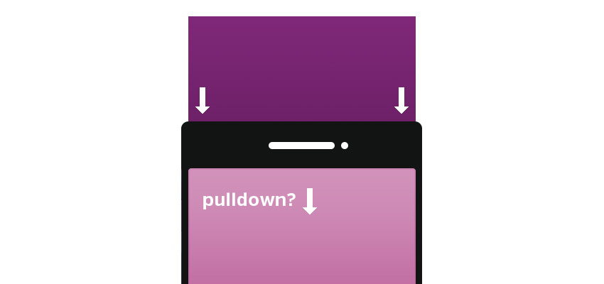 PULL DOWN